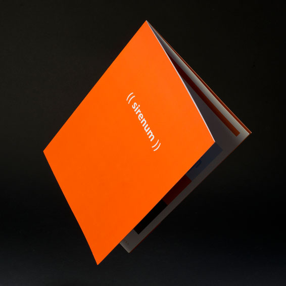 (( sirenum )) brochure designed by WillB