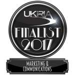 WillB Shortlisted for the UKRIA 2017 Marketing and Communications Award