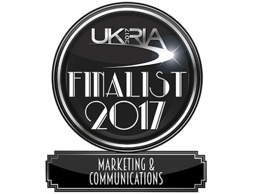 News / WillB Shortlisted for the UKRIA 2017 Marketing and Communications Award