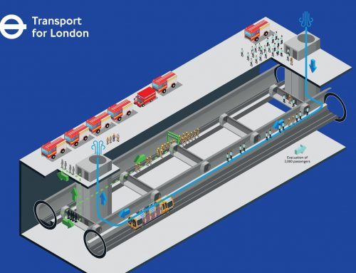 How do you create an engaging record of the emergency evacuation workshops, for the design of the Crossrail 2 tunnels?